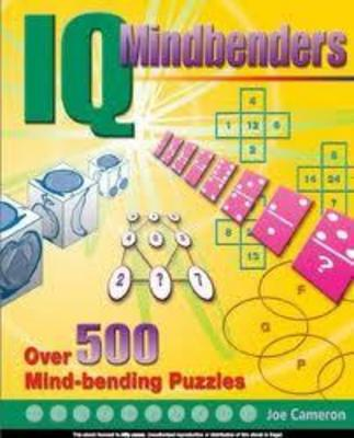 Product picture IQ Mindbenders Over 500 Mind-Bending Puzzles