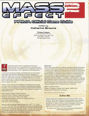Product picture Mass Effect 2 - Prima Official Game Guide